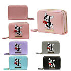 Key West Ladies Small Designer Leather Frenchie Pug Purse Boxed Wallet PW(335)