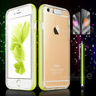 LED Flash Lighting Clear Case Crystal Incoming Call Cover For iPhone 6 6S Plus