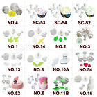 High Quality Various Design Fondant Sugarcraft Decorating Plunger Cutters Mould