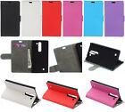 for Alcatel Sony Asus LG Huawei  phone wallet Card Leather Case Stand Cover KS