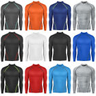 New Men Athletic Long Sleeves Skin Tights Compression Under Layer Top Nova