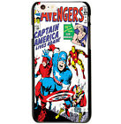 Marvel Comic Captain America Cover Case For Apple iPhone 6 4.7 / 6 Plus