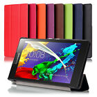 "Smart Ultra Thin Premium PU Leather Case Cover For Lenovo Tab 2 A7-30 (7"", 2015)"
