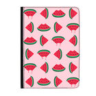 """Slice of Summer Watermelon Fruity Universal Tablet 7"""" Leather Flip Case Cover"""
