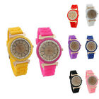 New Coming  Retro Golden Crystal Stone Quartz Ladies/Women/Girl Wrist Watch