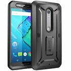 Moto X Pure Case Cover Built-in Screen Protector Supcase Unicorn Belt Clip Holst