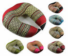 Travel Pillow Neck Head Rest Support Firm Cushion Traditional Thai Asia Pattern