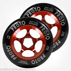 PROTO GRIPPER SCOOTER Wheels-110mm - PRO SCOOTER WHEELS - BLACK on RED
