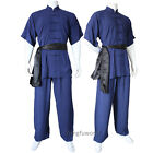 kungfuworld Soft Cotton Changquan Uniform Kung fu Martial arts Tai chi Suit