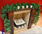 Christmas Garland Pine Tree Thick Mantel Fireplace  Decor 270cmx 25cm