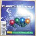 4 Push In Spare Bulbs Berry Light Set 3v 0.225w 0.075a 5 Colours Available