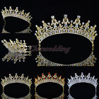 Vintage Wedding Crown Crystal Rhinestone Tiara Prom Pegeant Bridal Headband NEW