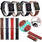 New Genuine Leather Strap Wrist Band For Apple Watch Series 2 iWatch 38mm 42mm