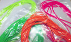 3 mm (approx.) ROUND ELASTIC CORD/ BRIGHT COLOURS/ FREE P&P