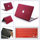 "3in1 Quicksand/ Silk/ Marble Matte Hard Case for MacBook 12"" Air Pro 11"" 13"" 15"""