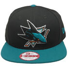 SAN JOSE SHARKS Basic 2Tone New Era 950 Snapback NHL Cap Black Hat 2 Tone