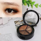 Cosmetic Natural Smoky Eye Shadow Set 3 Colors Eyeshadow Palatte Makeup for Lady