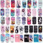 Fashion Flip Pattern Book Hybrid Stand PU Leather Cover TPU Case For Samsung