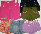 NWT Gymboree Plaid Bubble Ladybug Denim Turtle Bermuda Posy Shorts CHOICE ONE