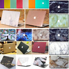 "Marble Wood Anti-Scratch Matt Hard Case Cover for Retina 12"" Air Pro 11"" 13"" 15"""