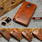 Natural Wooden Wood Bamboo Phone Case For Samsung GALAXY Note 4 / N9100 Cover