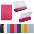 SMART COVER PER APPLE IPAD AIR 2 IPAD 6 SLIM CUSTODIA CASE BACK FLIP