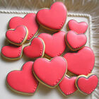Lips, Red lips, Cupid, Double Heart, Hearts. LOVE metal cookie cutters