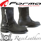FORMA EVA BLACK WATERPROOF LADIES LEATHER MOTORCYCLE CRUISER TOURING BOOTS