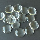 1 10 30 CLEAR ROUND CABOCHON GLASS DOME SEALS 20mm