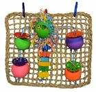 Parrot Pet Bird Toy Large SBC Seagrass Foraging Wall