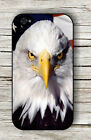 BALD EAGLE BIRD AMERICAN FLAG #2 CASE FOR iPHONE 4 5 5C 6 -jhb8Z