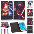 """Star Wars PU Leather Case Cover For Samsung Tab A Tab E Tab 4/3 9.7"""" 10.1"""" 7"""" 8"""" £6.6 GBP"""