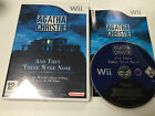 Agatha Christie And Then There Were None for Nintendo Wii Game Complete