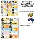 Star Wars Vinyl Personalised Name Label Sticker school book boy tag custom child $5.49 AUD on eBay