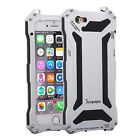 Shockproof Waterproof Aluminum Gorilla Glass Metal Case Cover For iPhone Models
