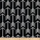 Premier Prints Arrow Black and White Home Decor Fabric - Fabric by the yard
