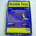 Tarp Heavy Duty Weather Proof Reinforced Car Boat Swimming Pool Cover 6 Mil NEW