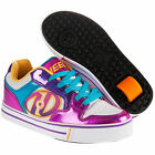NEW HEELYS MOTION PLUS JUNIOR KIDS BOYS GIRLS ROLLER SKATE TRAINER UK SIZE MULTI