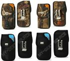 Fitted Cover Holster Metal Belt Clip Large Cell Phone Fits WaterProof Case