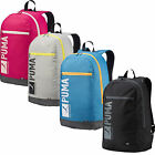 NEW PUMA PIONEER I SPORTS CASUAL GYM RUCKSACK CARRY BACKPACK BLACK BLUE ONE SIZE