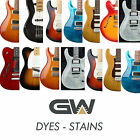 Water Based Dyes - Stains for Guitar Finishing - Luthier