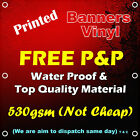 PVC Banners Outdoor Vinyl Banner Advertising Sign Display Printed on 530gsm