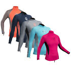 LADIES GUL SWAMI WETSUIT UV RASH VEST CANOE KAYAK JETSKI SWIMMING TOP Long Arms