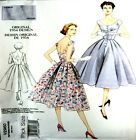 Vogue Sewing Pattern 2960 Vintage Model Ladies 50s Rockabilly Dress Pick Size