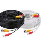 BNC Patch Leads RG59 for CCTV Cameras to DVR Video & Power Cable 5m to 25 Metres