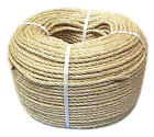 NATURAL ORGANIC SISAL ROPE AVAILABLE IN 8mm & 10mm - VARIOUS LENGTHS