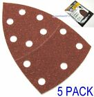 5 x Velcro Sanding Sheets For Bosch PSM 160A, PSM 80A, PRIO, Palm Detail Sander