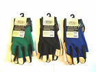 Rugged Wear (RW) Mechanics Gloves Size Medium Leather/Spandex for Shop and Work