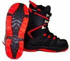 NEW $100 Mens BD Black Dragon Red Snowboard Boots USA Size 6.5 7.5 8 9 10 12 13