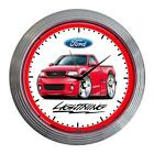 1999-04 Ford SVT Lightning F150 Classic Neon Clock NEW